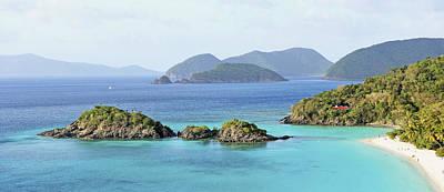Y120907 Photograph - Breath-taking View Of Trunk Bay, St John by Driendl Group