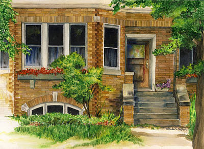Painting - Bungalow by Paula Nathan