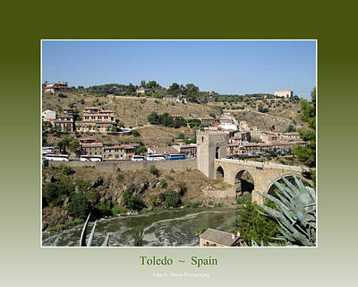 Photograph - Bridge Across Toledo by John Shiron