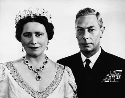 British Royalty. British Queen Print by Everett