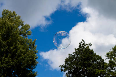Bubble  Print by Robert Hellstrom