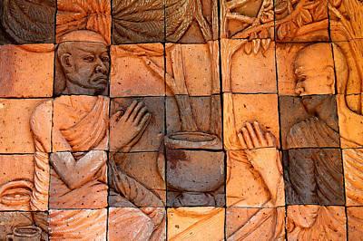 Buddha Image  Art Print by Panyanon Hankhampa