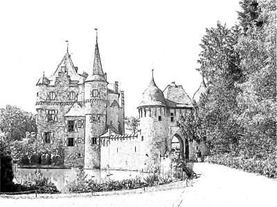 Burg Satzvey Germany Art Print by Joseph Hendrix