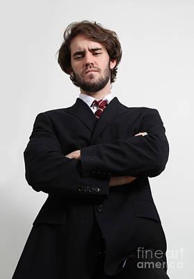 Pant Suit Photograph - Business Man by Photo Researchers, Inc.