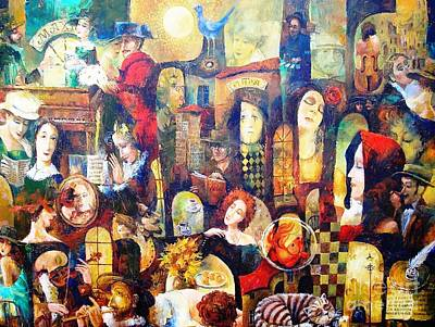 Painting - Cafe Lira by Igor Postash