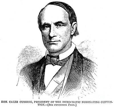 Caleb Cushing (1800-1879) Art Print
