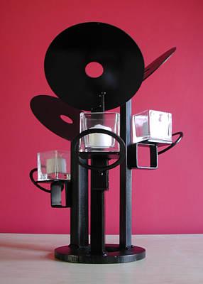 Sculpture - Candle Holder Model 9 by John Gibbs