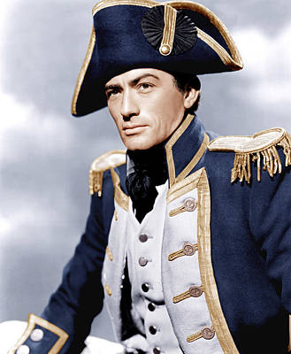 Incol Photograph - Captain Horatio Hornblower, Gregory by Everett