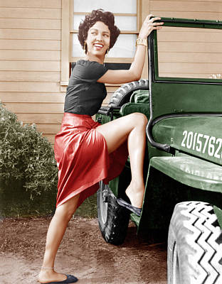 Incol Photograph - Carmen Jones, Dorothy Dandridge, 1954 by Everett