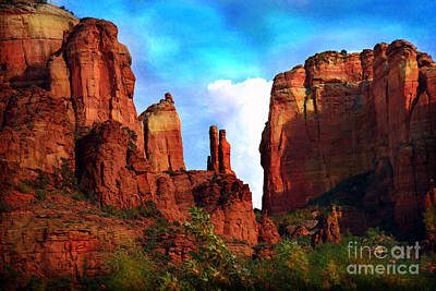 Photograph - Cathedral Rock by Afrodita Ellerman