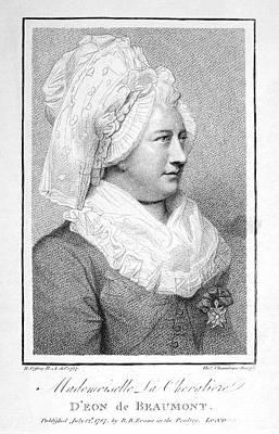 Charles Deon De Beaumont Art Print by Granger