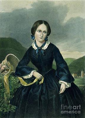 Charlotte Bront� Art Print by Granger