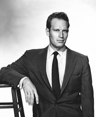Charlton Heston, Paramount Pictures Art Print by Everett
