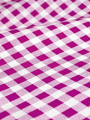 Checked Tablecloth Art Print by Maria Toutoudaki