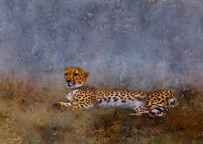 Cheetah Digital Art - Cheetah by Ron Jones