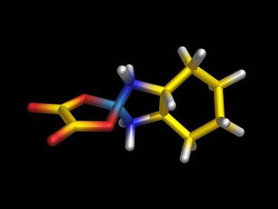 Chemotherapy Drug Molecule Print by Dr Tim Evans