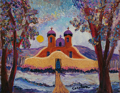 Painting - Chimayo by Carolene Of Taos