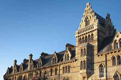 Britain Photograph - Christchurch College by Andrew  Michael