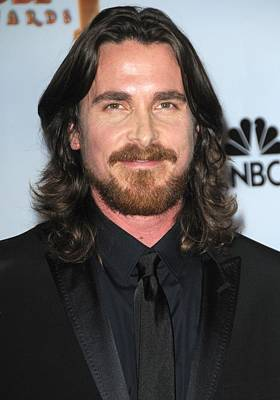Christian Bale In The Press Room Print by Everett