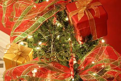 Christmas Ornaments Art Print by Lonnie Moore
