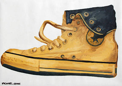 Chucks Art Print by Michael Ringwalt