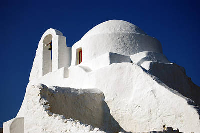 Photograph - Church Of Panagia Paraportiani by Harvey Barrison