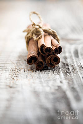 Photograph - Cinnamon Sticks by Kati Molin