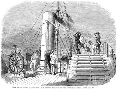 Civil War: Blockade, 1864 Print by Granger