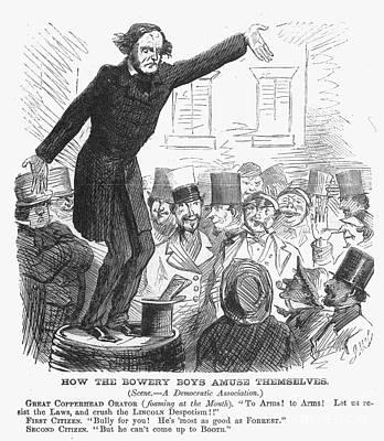 Civil War: Copperhead, 1863 Art Print by Granger