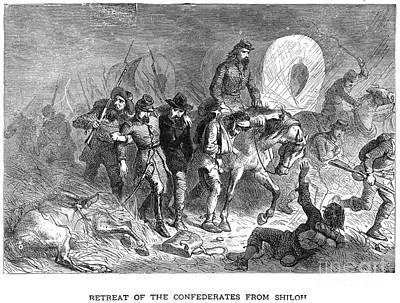 Civil War: Shiloh, 1862 Art Print by Granger