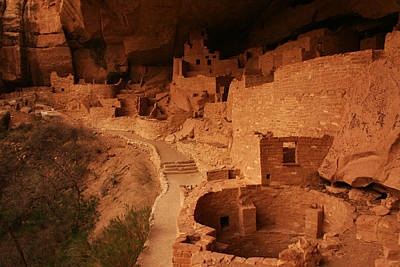 Photograph - Cliff Palace Mesa Verde National Park by Benjamin Dahl