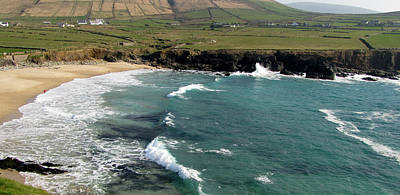 Art Print featuring the photograph Clogher Beach by Barbara Walsh