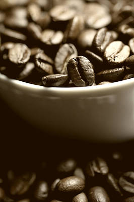 Coffee Art Print by Falko Follert