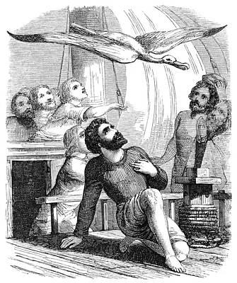 Coleridge: Mariner Art Print by Granger
