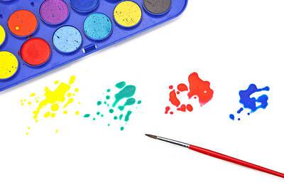 Color Splash Art Print by Joana Kruse