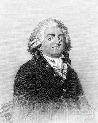 Comte De Mirabeau Print by Granger