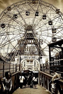 Photograph - Coney Island by Elizabeth Marks