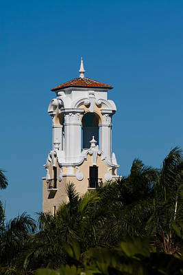 Photograph - Congregational Church Tower by Ed Gleichman
