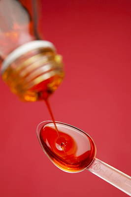 Cough Syrup Photograph - Cough Medicine by Mark Sykes