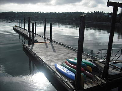 Photograph - Coupeville Pier by Kelly Manning
