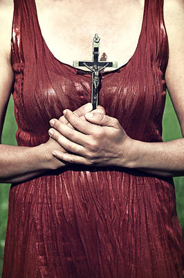 Submissive Photograph - Crucifix by Joana Kruse
