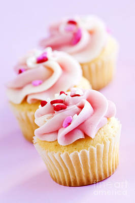 Cupcake Photograph - Cupcakes by Elena Elisseeva