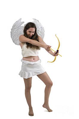 Cupid The God Of Desire Art Print by Ilan Rosen