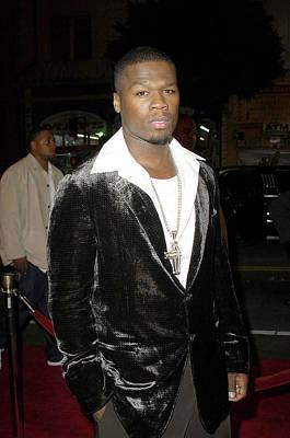 50 Cent Photograph - Curtis 50 Cent Jackson At Arrivals by Everett