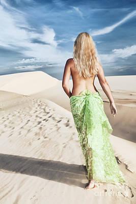 Desert Woman Art Print by MotHaiBaPhoto Prints