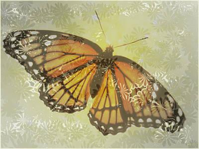 Designer Butterfly Collection Print by Debra     Vatalaro