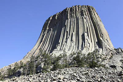 All American - Devils Tower National Monument, Wyoming by Richard Roscoe