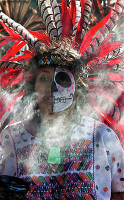Dia De Los Muertos Photograph - Dia De Los Muertos - Day Of The Dead 10 15 11 by Robert Ullmann