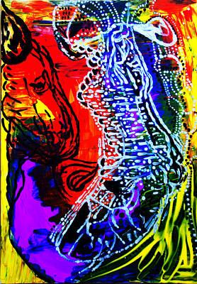 Dinka Bride Art Print
