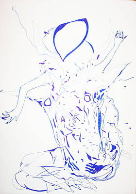 Dinka Dance - South Sudan Art Print by Gloria Ssali